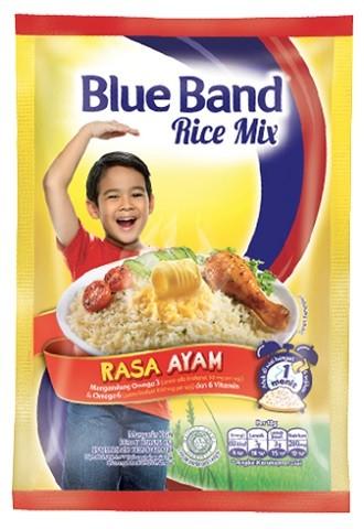 Blue Band Rice Mix rasa Ayam 45gr