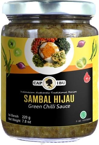 Sambal Hijau Hot 220gr
