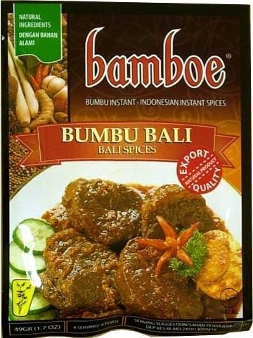 Bumbu instan Bumbu Bali 49gr