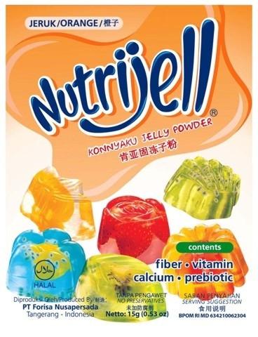 NutriJell - Jeruk 15gr