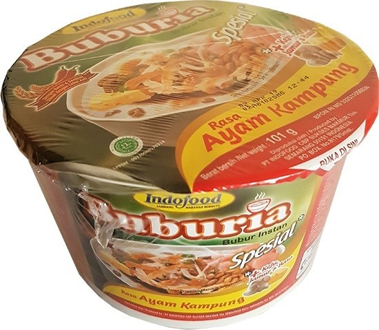 Bubur instan rasa Ayam Kampung Spesial bowl 101gr
