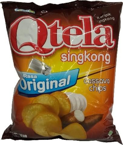 Qtela Singkong Rasa Original 60gr