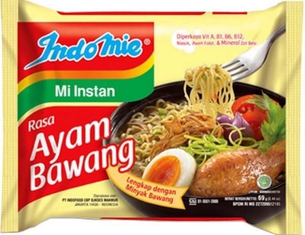 Mi Kuah Rasa Kari Ayam dengan Bawang Goreng 69gr