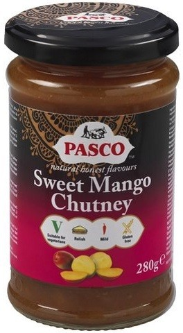 Sweet Mango Chutney 320gr