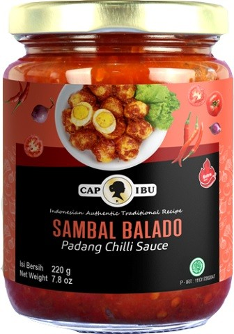 Sambal Balado hot 220gr