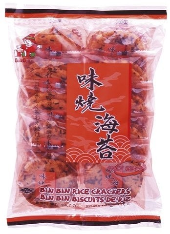 Rice crackers seewed spicy 135gr