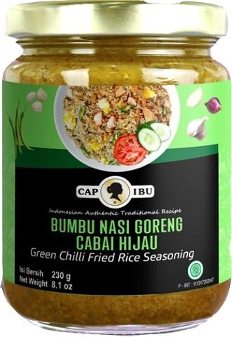 Bumbu Nasi Goreng Cabai Hijau 230gr