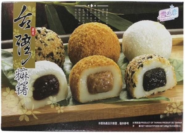 Kue beras Japang berbagai macam 454gr