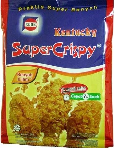 Tepung Bumbu Kentucky Super Crispy 75gr