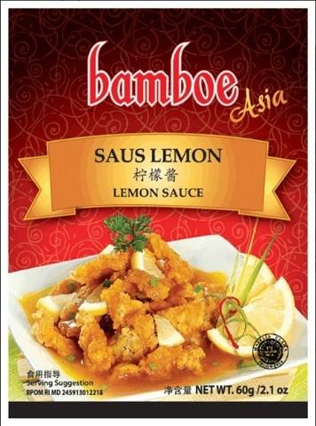 Bumbu instan Asia Saus Lemon 60gr