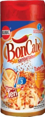 Bon Cabe sambal rasa Teri tabur level 3 50gr