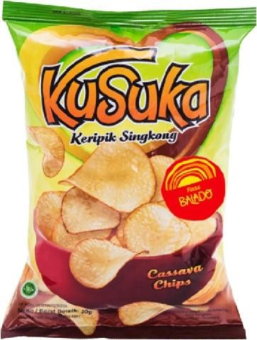 Keripik Singkong Balado 180gr