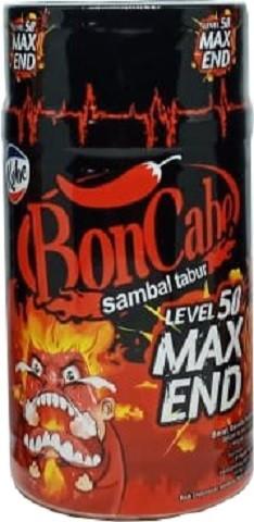 Bon Cabe sambal tabur level 50 max end 30gr