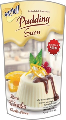 Pudding Susu rasa Vanila 120gr