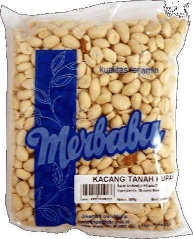Kacang Tanah Kupas 500gr