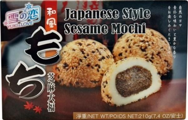 Kue beras Jepang Wijen 210gr