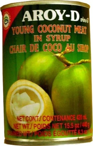 Young Coconut Meat in Syrup 440gr