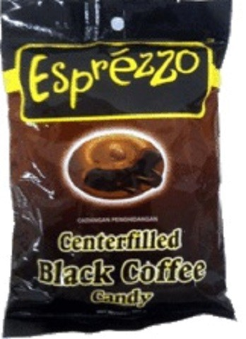 Centerfilled Black Coffee Candy 165gr