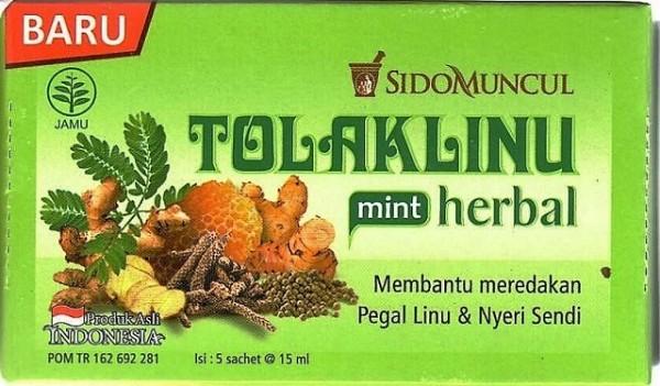 Tolak Linu mint herbal 5x15ml 75ml