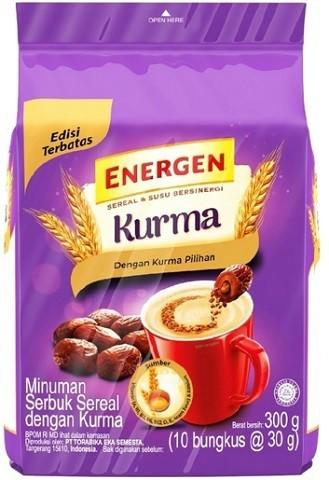 Energen rasa Kurma (10x30gr) 300gr