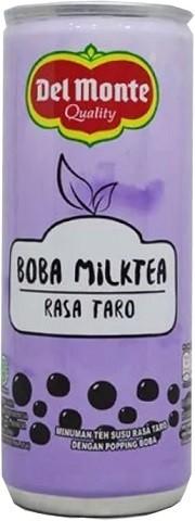 Boba Milktea rasa Taro 240ml